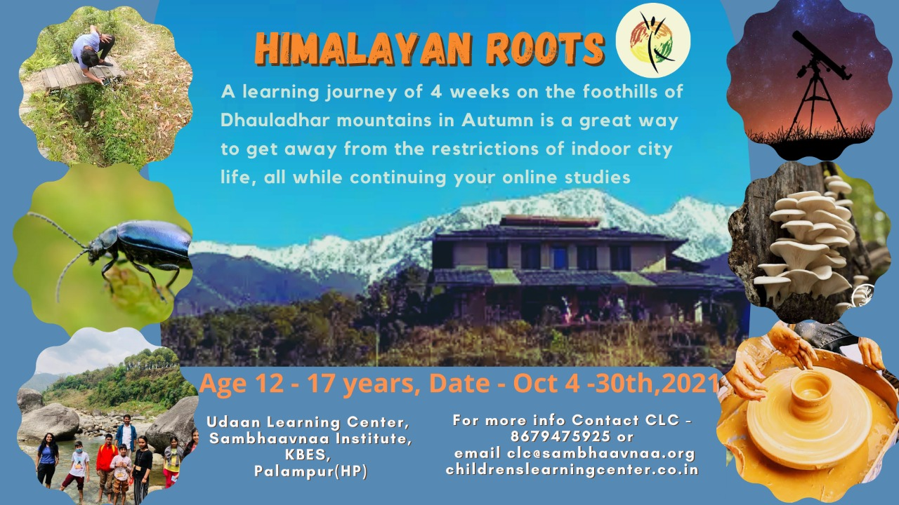 Learning Amidst Nature: Himalayan Roots for Children